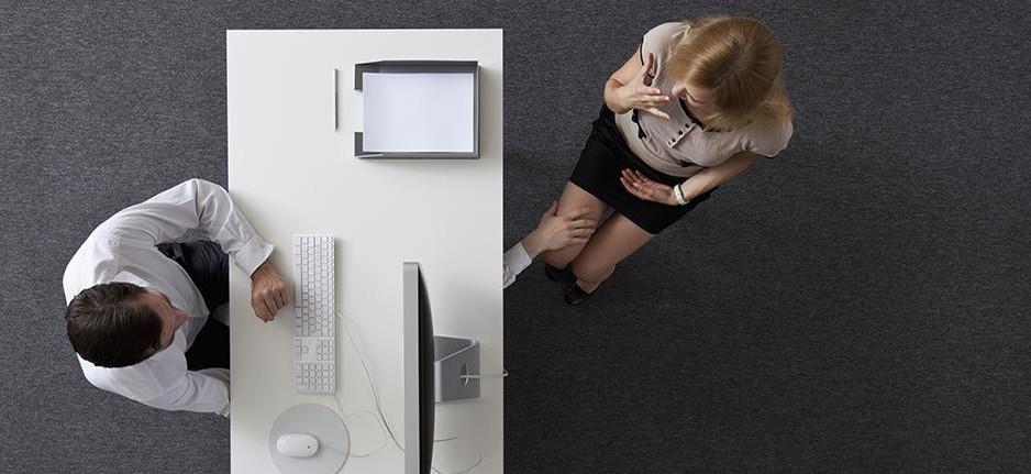 Harcèlement sexuel au travail